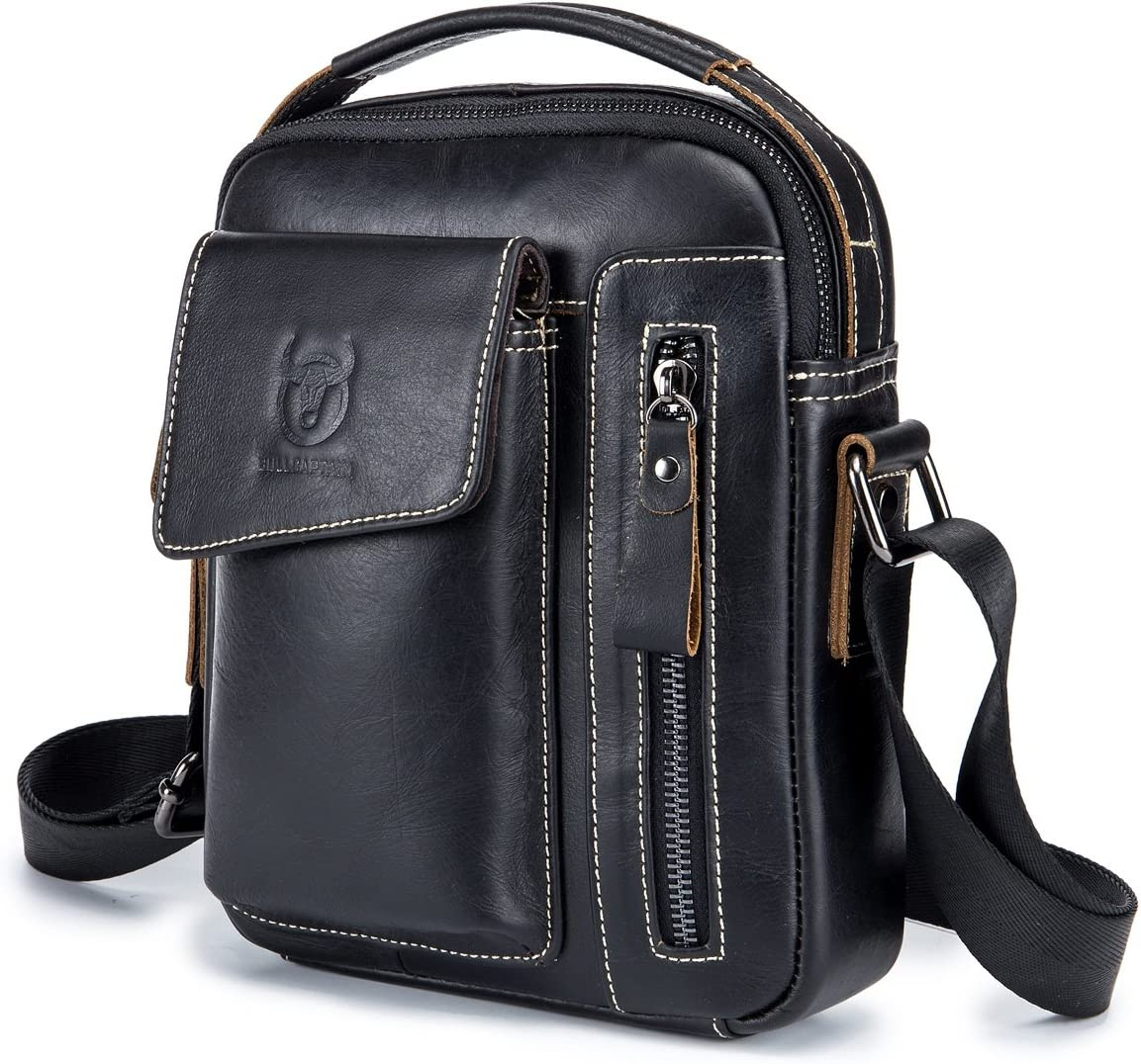 Genuine Leather Men Bags Small Austin Mall for Crossbody Popular products Shoulder Ev Bag