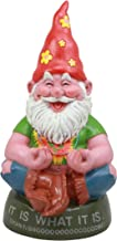 Ebros Highly Content Meditating Hippie Gnome Statue As Collectible of Hipster Happy Gnomes Perfect for Home Patio Garden Poolside Decor Figurine