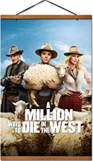 Film A Million Ways to Die in the West Hangende posters Home Slaapkamer decor Woonkamer decor Muur decor canvas prints Can...