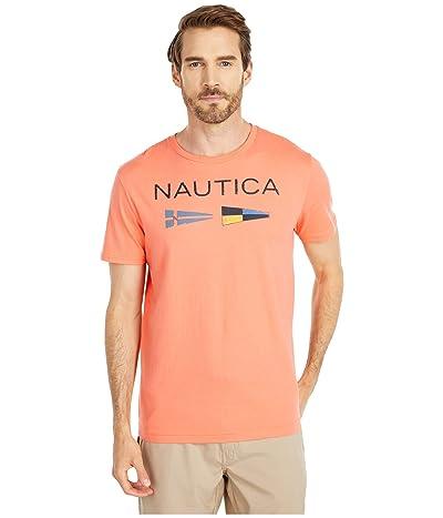 Nautica Nautica Flags Tee (Orange) Men