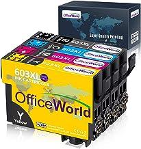 OfficeWorld 603 XL Reemplazo para Epson 603XL Cartuchos de