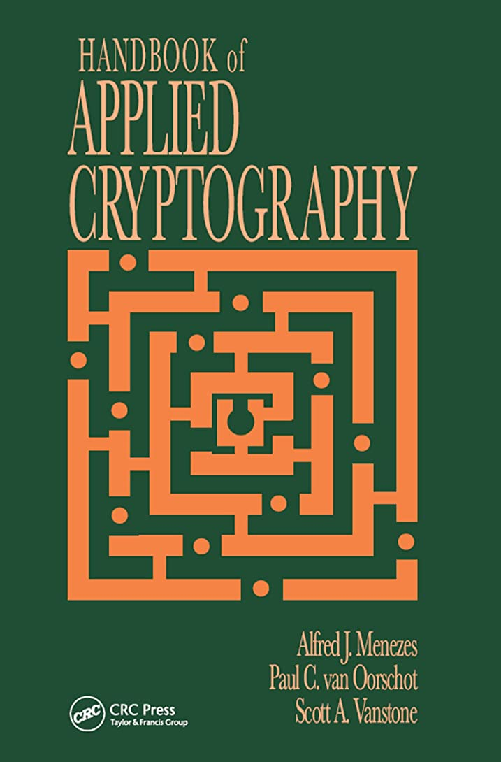 ジャングルコーン識別するHandbook of Applied Cryptography (Discrete Mathematics and Its Applications) (English Edition)