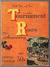 Pasadena Tournament of Roses Parade Program 1960-46th Rosebowl game-G