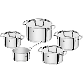 ZWILLING Passion Stainless Steel Cookware Set, 60 x 50 x 30 cm, Silver