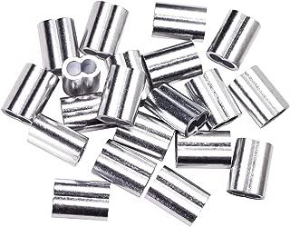 Penta Angel 20pcs Aluminum Crimping Loop Sleeve for 5/32