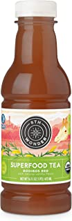 8th Wonder Organic Rooibos Tea, All Natural, Low Calorie Superfood Iced Tea   Rooibos Red Tea   16 Fluid Ounce Bottled Tea Pack of 6   Uplift Energy, Reduce Stress, Promote Relaxation