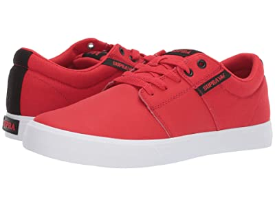 Supra Stacks Vulc II (Risk Red/Black/White) Men