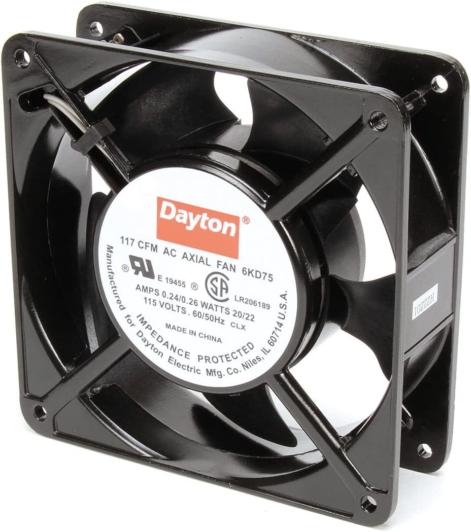 Dayton Square Axial Fan 4-11 Width NEW before selling ☆ 16