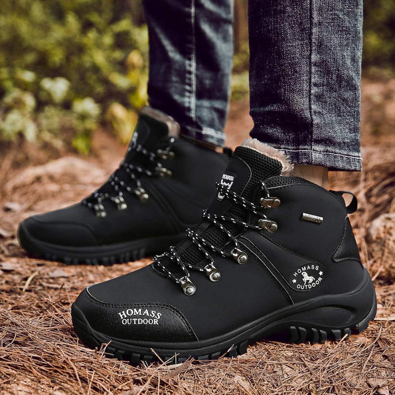 Stiefel Winter Baumwollschuhe, Herbst Und Winter Winter Wanderschuhe, Herren Rutschfeste Tragbare Outdoor-Schuhe, Cross-Country-Wanderschuhe  machen Rabattaktivitäten