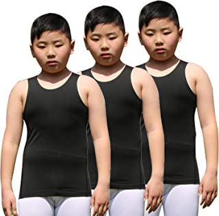 Youth Boys' Compression Vest Athletic Sleeveless Undershirt Cool Dry Tank Top