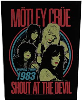 Motley Crue Shout at the devil XLG Back Patch