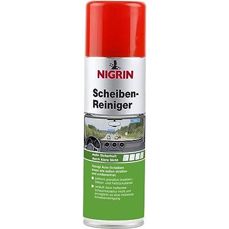 Nigrin 74026 Scheibenreiniger Schaum 300 Ml Antibak Auto