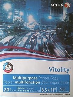 Xerox Business Copy/Fax/Laser Inkjet Printer Paper, 500 Sheets