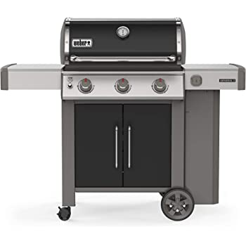 Weber 61015001 Genesis II E-315 3-Burner Liquid Propane Grill, Black