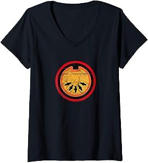 Womens MIDI DAW Producer Vintage VST Synth Analog Gear Studio Nerd V-Neck T-Shirt