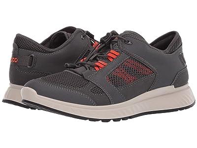 ECCO Sport Exostride Summer Trail Sneaker (Dark Shadow/Fire) Men