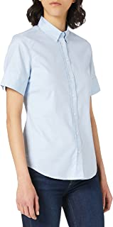 GANT STRETCH OXFORD SOLID SS SHIRT dames Bloes