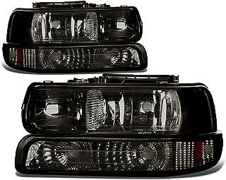 DNA Motoring HL-OH-CS99-4P-SM-AB Headlight (Driver & Passenger Side)