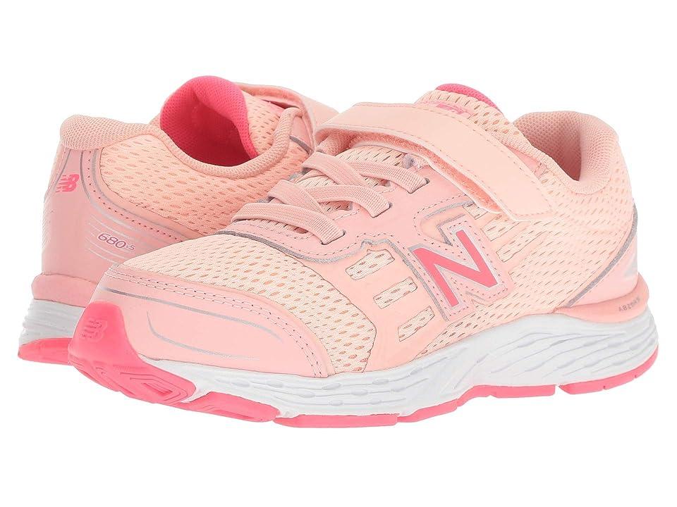 New Balance Kids KA680v5Y (Little Kid/Big Kid) (Himalayan Pink/Pink Zing) Girls Shoes