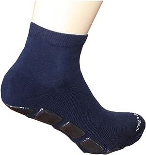 Weri Spezials, Calcetines con suela antideslizante, color azul marino