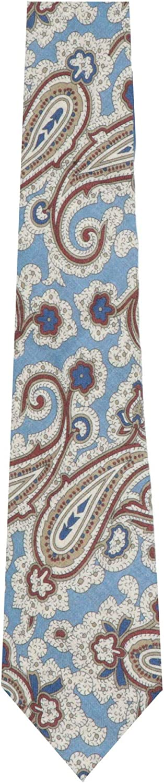 Petronius 1926 Men's Paisley Wool Tie Necktie