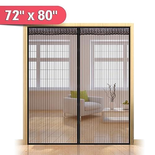 Door Net Screen with Magnet 60 x 80 Building Materials