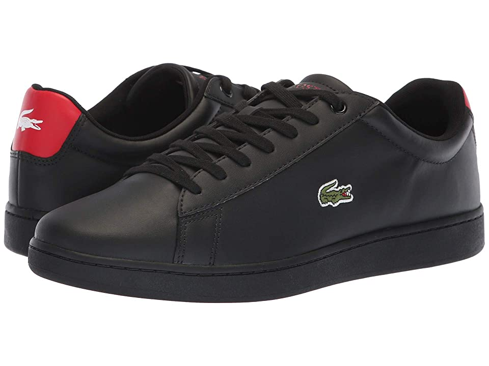 Lacoste Hydez 318 1 P (Black/Red) Men
