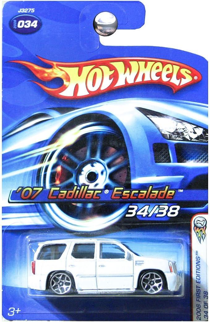 2008 Hot Wheels Cadillac Escalade Col #065 Gray Version