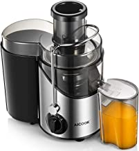 Juicer, Juice Extractor, Aicook Juicer Machine with 3'' Wide Mouth, 3 Speed..
