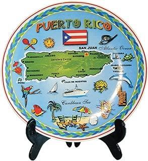 Decorative Plate Puerto Rico Souvernir 8
