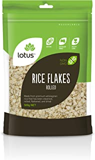 Lotus Rolled Brown Rice Flakes 500 g, 500 g