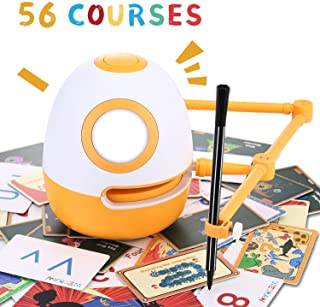 WEDRAW Educational Robot, Learning Toy, Robot Toy for Kids,Learn Draw,Count Math Numbers Letters Words ?56 Courses?,Preschool Learning&Creative Toy for 3-8 Year Old ,Interactive Kids Learning Partner