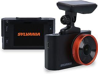 SYLVANIA - Roadsight Pro Dash Camera - 130 Degree View, HD 1296p, 16GB SD Memory Card Included, Loop Record, GSensor, 2 in...