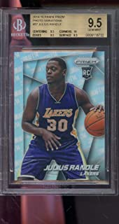 2014-15 Panini Prizm Photo Variations #37 Julius Randle ROOKIE RC GEM MINT BGS 9.5 Graded Basketball Card NBA