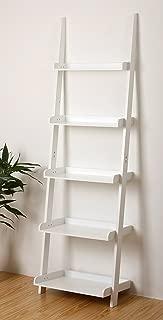 Best leaning shelves white Reviews