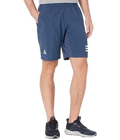 adidas Club 3-Stripes Shorts (Crew Navy/White) Men