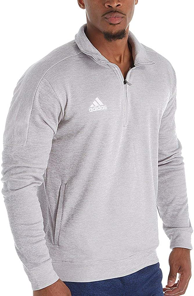 adidas Men's Athletics Team Issue Sleeve Zip Outlet sale feature 1 4 2021 autumn and winter new Long