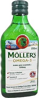 MOLLERS aceite de hígado de bacalao, omega3, 250ml