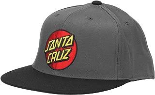 Santa Cruz Men's Classic Dot Fitted Stretch Flexfit Hats