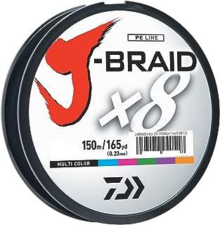 Daiwa J-Braid 150M 8-Strand Woven Round Braid Line