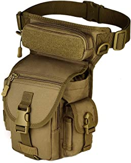 outdoor plus Military Tactical Drop Leg Bag-Multi-Purpose Bag Paintball Airsoft Motorcycle Riding Thermite Versipack