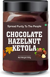 Leanbeing - Chocolate Hazelnut Ketola (500g) - No Added Sugar - A Healthy & Delicious Option for Those Who Love Choco-Haze...