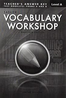 Best vocabulary answer key Reviews