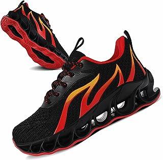 کفش ورزشی بچه گانه دوشی زنانه UMIYE کفش های پیاده روی مش مشبک قابل تنفس بدون لغزش (بچه کوچک/بچه بزرگ)