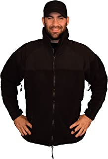 Military Black PolarTec 300 Fleece Jacket