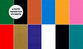 Heat Transfer Fashion Film Vinyl Multicolor Bundle