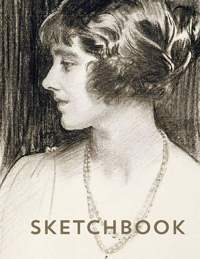 いらいらする群衆オゾンSketchbook: Sargent Drawing Cover Edition,  8.5 X 11 in., 108 Blank Pages for Sketching, Drawing, Doodling and Art Ideas