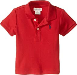 Ralph Lauren Baby Interlock Knit Polo Shirt (Infant)