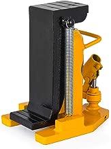 Mophorn Toe Jack Lift Hydraulic Machine Toe Jack Lift Air Hydraulic Toe Jack Proprietary Heat-Treated Steel (10-20Ton Yellow)