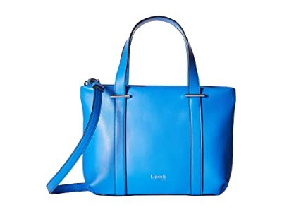 Lipault Paris By The Seine Nano Tote Bag (Cobalt Blue) Tote Handbags